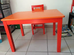 table et chaise enfant ikea table teck ikea affordable ikea side table hack oh my dear