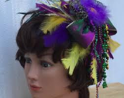 mardi gras headbands mardi gras hair etsy