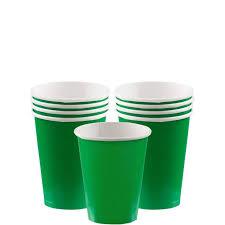 bicchieri verdi bicchieri verdi bicchieri di carta per feste 266 ml