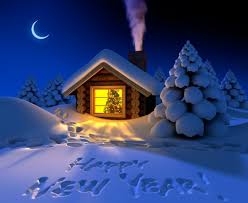 happy new year winter nature background wallpapers on desktop