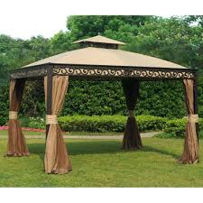 Garden Treasures Canopy Replacement x hardtop gazebo canada chatham with mosquito netting summerville