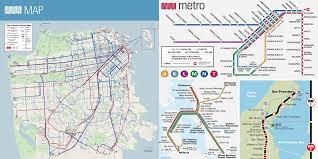 San Francisco Transit Map by Better Transit For Apple Maps U2013 Topher Stern U2013 Medium