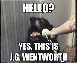 Jg Wentworth Meme - hello yes this is j g wentworth misc quickmeme