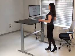 Standing Desk Biomorph Els Standing Desk Youtube