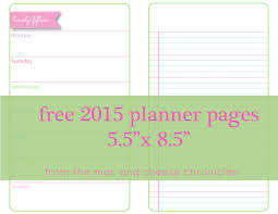 printable planner pages for 2015 free printable planner pages solnet sy com
