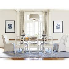 Bisque Kitchen Cabinets Universal Furniture 414655 Moderne Muse Dining Table In Bisque