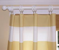 stripe curtains premier fabric window treatment 24 home