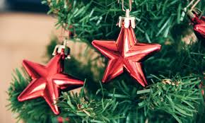 ways to decorate your tree with food