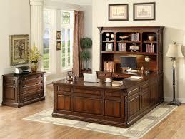 U Shaped Executive Desk Darby Home Co Antoine Traditional U Shape Executive Desk Reviews