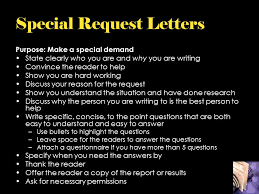 four types of business letters ppt download