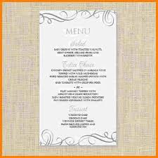free word menu templates sle drink menu template