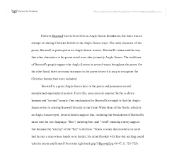 themes of beowulf poem beowulf critical review university linguistics classics and