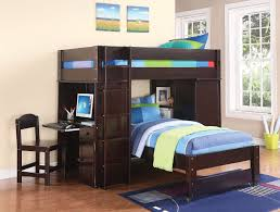 loft bunk beds with desk modern loft beds