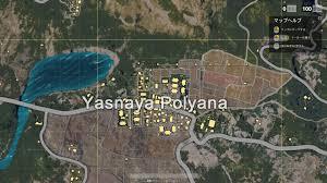 pubg yasnaya pubg map