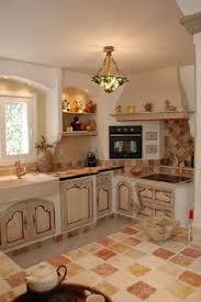 cuisiniste sete cuisine intégrée provençale style rustique avec bâtis aathena