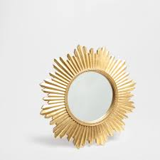 sun mirror mirrors decoration zara home poland wishlist