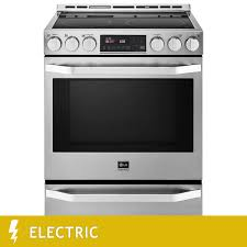 Lg Kitchen Appliances Lg Studio 6 3cuft Electric Slide In Range With Probake Convection