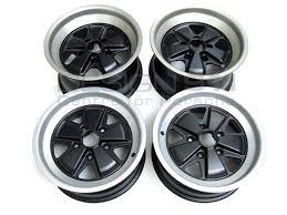 buy porsche 911 912 1965 1989 fuchs wheels 15 matt finish