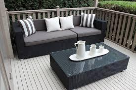 grey patio furniture wicker chair fashionable grey patio