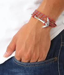 rope bracelet with anchor images Arknets rakuten global market miansai silver tone anchor rope jpg