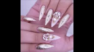 bling bling glamour nail art designs u0026 ideas christmas new years