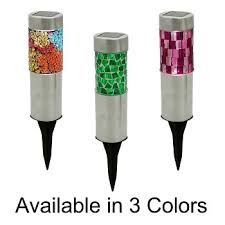 wholesale pricing flipo colored mosaic stake lights