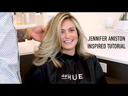 what is the formula to get jennifer anistons hair color jennifer aniston inspired highlight tutorial youtube