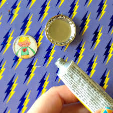 bottle cap crafts kids art magnets darice