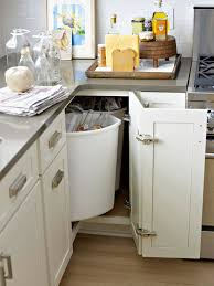 Corner Cabinets For Kitchens 16 Ways To Organize Your Recycling Spin And Doors