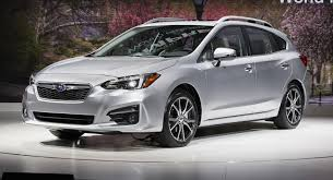 white subaru hatchback moment of truth 2017 subaru impreza production vs concept