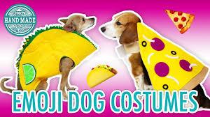 last minute diy emoji dog costumes hgtv handmade youtube