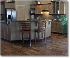 Hardwood Floor Kitchen Using Hardwood Floors In The Kitchen Does It Make Sense