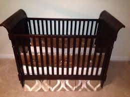 restoration hardware crib with toddler bed conversion never used
