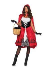 Halloween Funny Costumes Red Riding Hood Dress Women Women Halloween Red