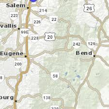 road weather conditions map tripcheck oregon traveler