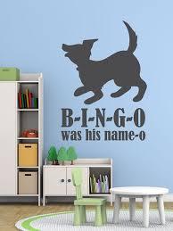 Nursery Rhyme Wall Decals Nursery Rhyme Wall Decals B I N G O Bingo Song