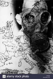 Google Map Of Europe by Nazism National Socialism Propaganda Man With Gas Mask On A