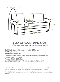 sofa height gallery of height in widthlength ft in depth with