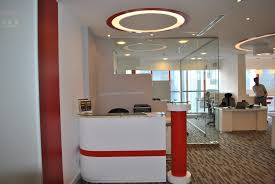Small White Reception Desk by Elegant Reception Desk Furniture For Modern Office Fimim Sleek L