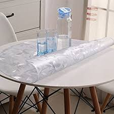 tablecloth for coffee table amazon com round tablecloth pvc round table cloth waterproof soft