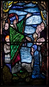 st stained glass window by harry clarke 1925 st
