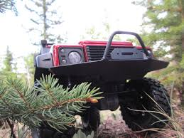jeep nukizer axial 2 front bumpers traxxas trx4 scalerfab