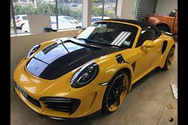 porsche 911 turbo s 2017 topcar u0027s 2017 porsche 911 turbo s cabriolet is a work of