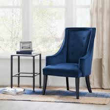 Navy Blue Accent Chair Engage Wooden Leg Mid Century Armchair Navy Accent Chair Room