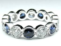 sapphire wedding ring best 25 sapphire wedding bands ideas on white