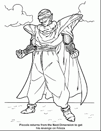 unbelievable dragon ball coloring pages with dragon ball z