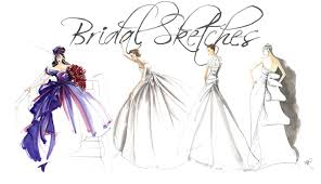 bridal sketches by angie rehe