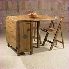 Drop Leaf Dining Table For Small Spaces Storage Table And Chairs Smart Furniture