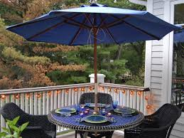 Kmart Wicker Patio Furniture - patio 58 blue walmart patio umbrella with round table and