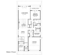 narrow home floor plans house plans basewater linwood custom homes